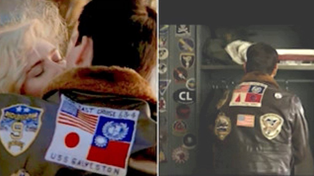 'Top Gun' cuts Taiwan flag from Tom Cruise's jacket