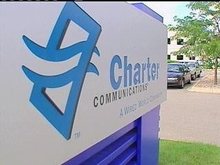 Charter reports service outages