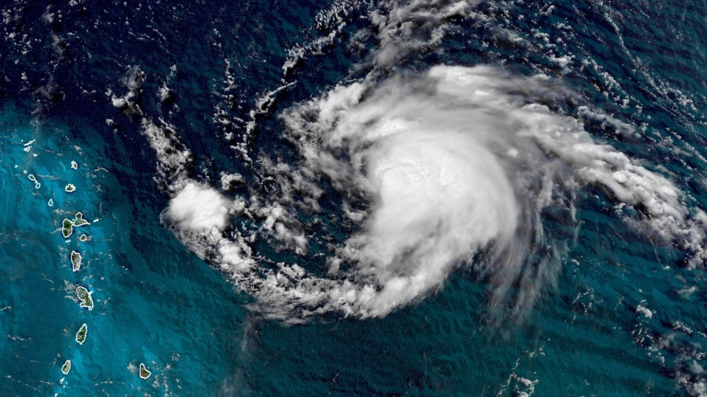 Jerry has become a hurricane, the National Hurricane Center says