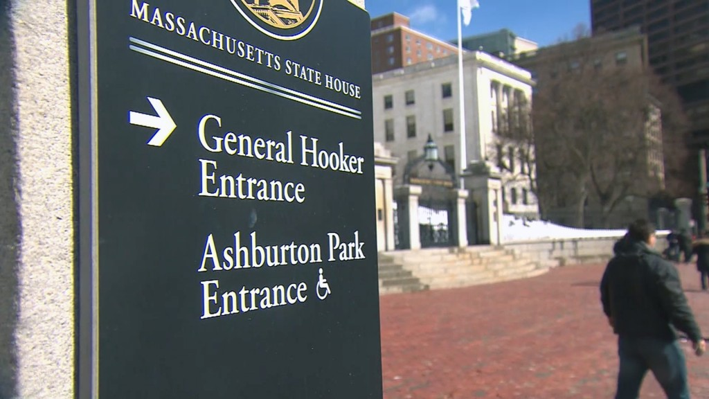 Massachusetts lawmaker wants 'General Hooker Entrance' sign gone