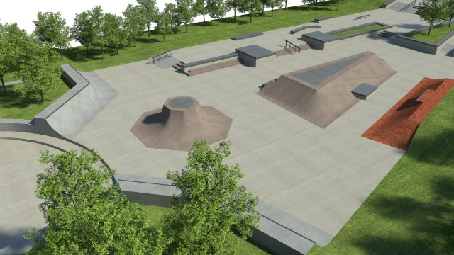 County officials announce $200K grant for skate park