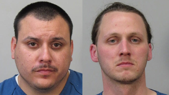 Homeowner spots suspected thief, 2 arrested