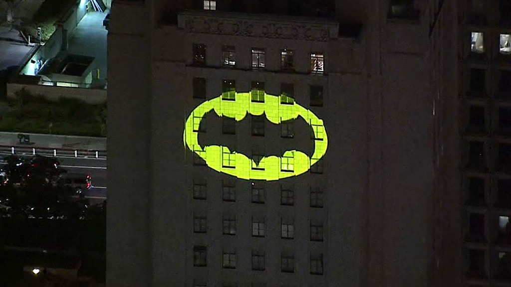 Here's where you can see the Bat Signal on Batman Day this Saturday