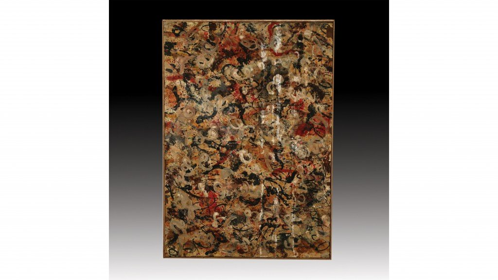 Lost Jackson Pollock painting found in a garage could be worth $15 million