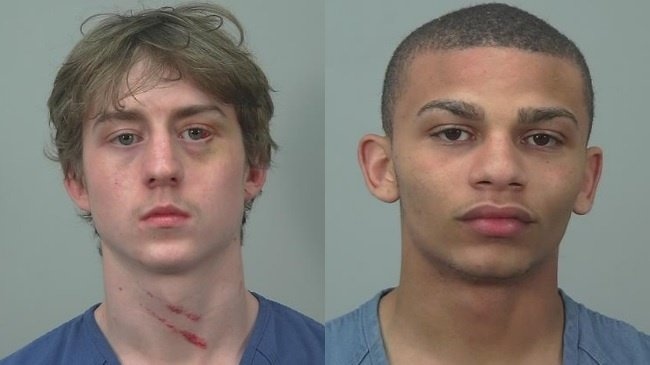 2 men involved in Langdon Street crime spree face other charges