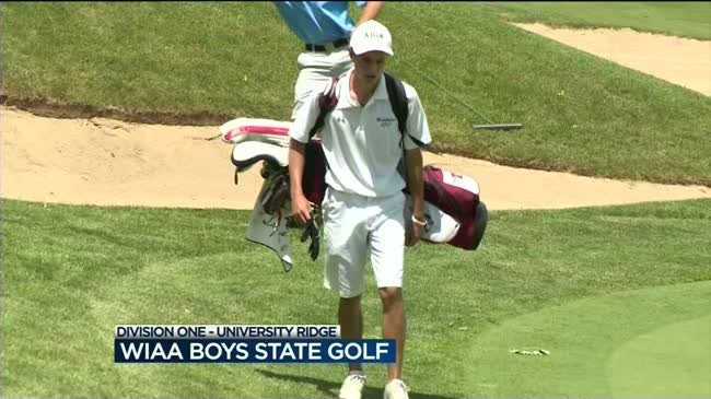Herb, Walzer lead WIAA state boys golf