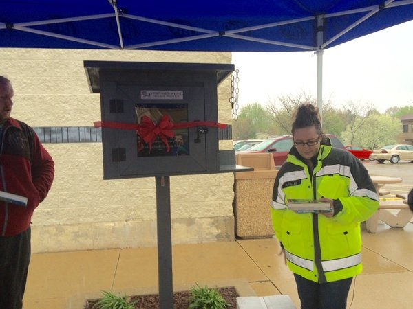 Free Little Library dedicated in honor of Metro Market homicide victim
