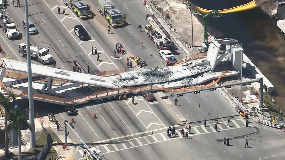 Company involved in bridge collapse had safety complaints