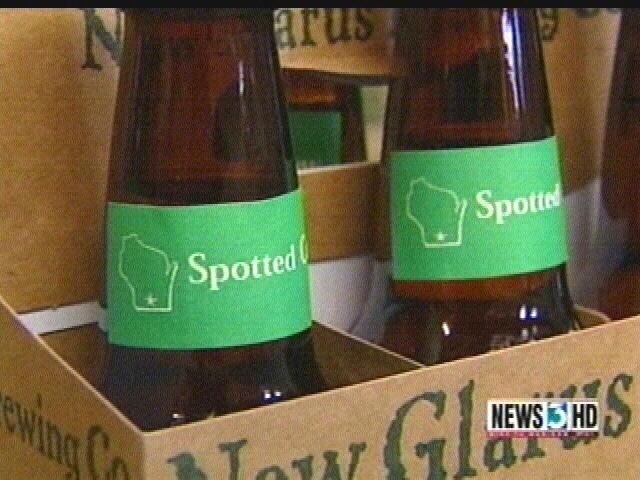 New Glarus Spotted Cow spotted outside Wisconsin