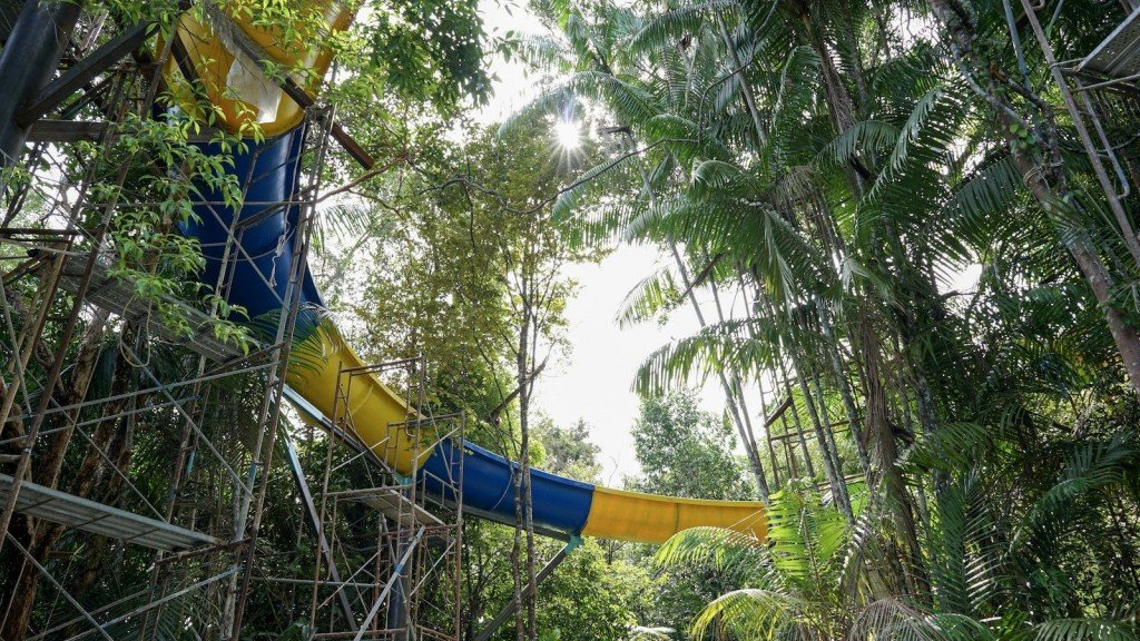 Record-breaking, 1,140-meter-long waterslide to open in Malaysia