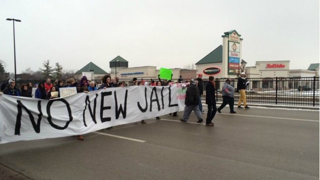PHOTOS: Protesters take to north Madison streets