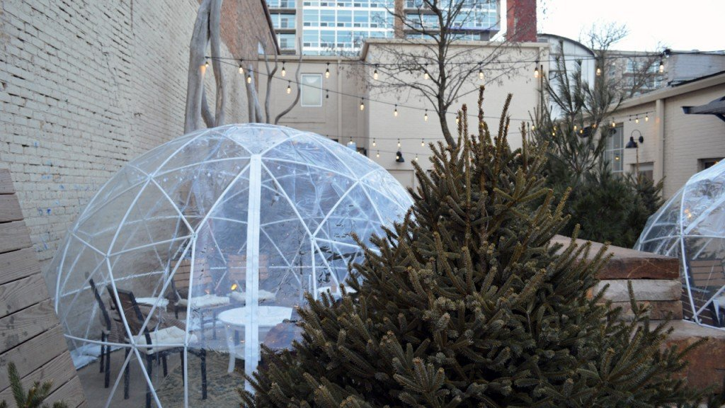 PHOTOS: Dining domes pop up in Madison