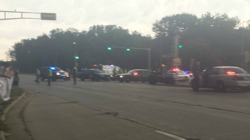 MPD: Protesters in road cause partial closure of John Nolen Drive