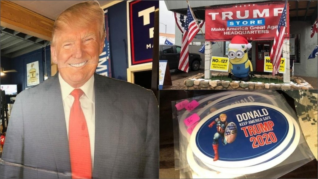 Arizona store does big business selling all things Trump