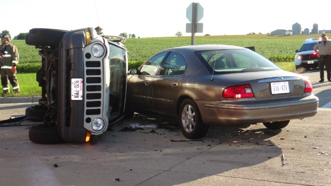 Driver involved in Dodge County crash died from a medical event