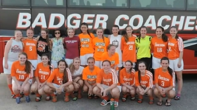 Oregon girls soccer hopes to head to state