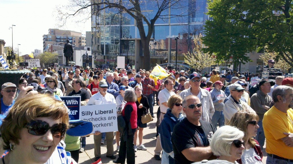 See images of Tax Day Rally at State Capitol