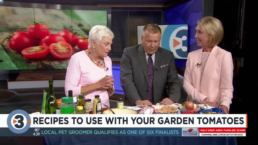 Donna shares recipes using garden tomatoes