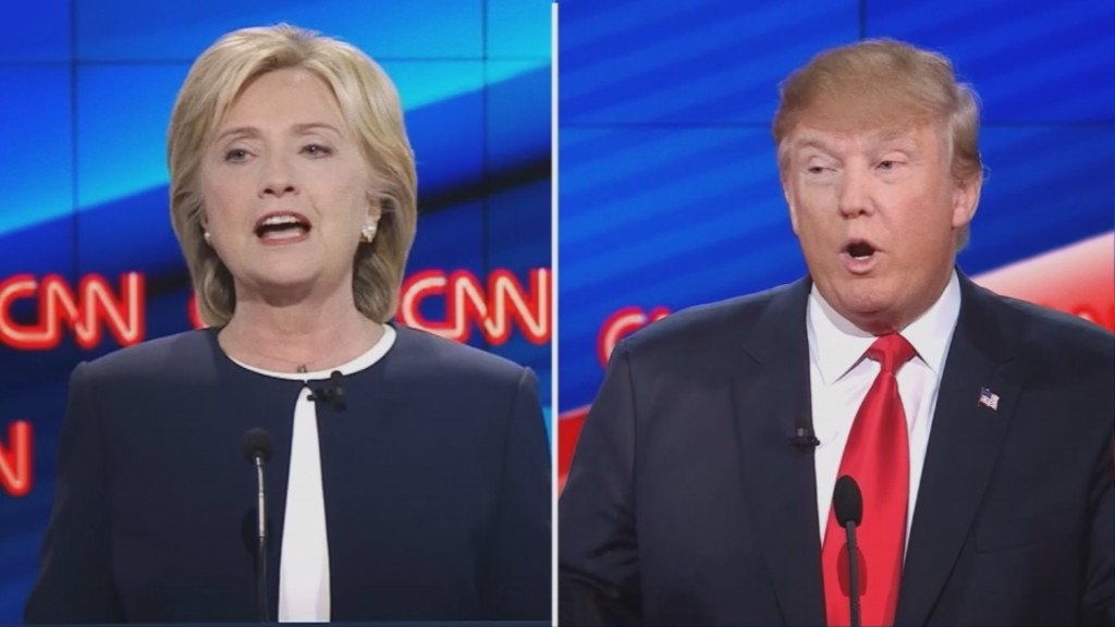Local supporters of Clinton, Trump looking forward to debate