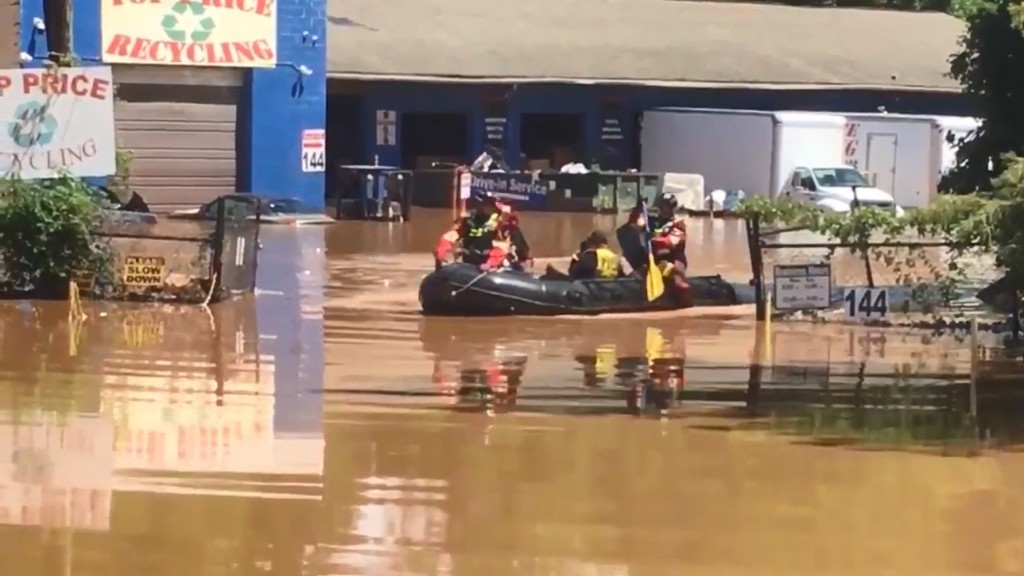 Flooding in the Mid-Atlantic is shaping up to be 'dangerous'