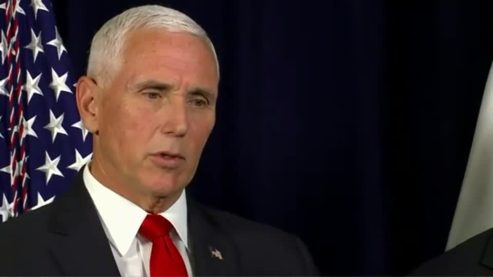 Pence: Trump made it clear other nations should look into it