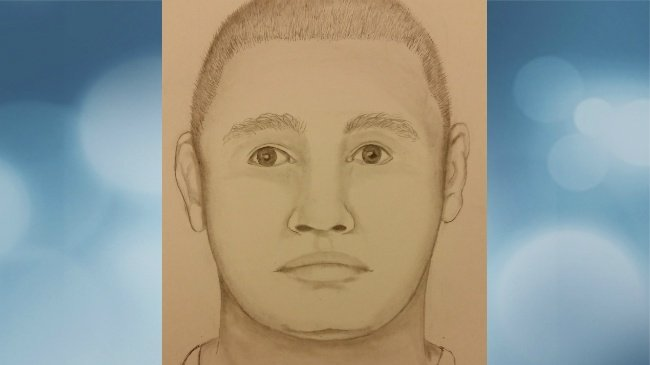 MPD releases sketch of man seen peeping into windows