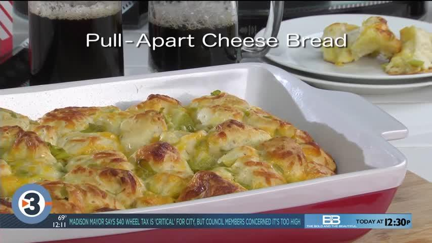 Mr. Food: Pull-apart Cheese Bread