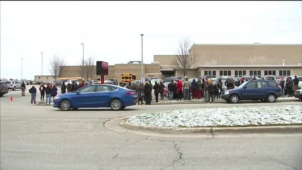 Students, parents react after shooting inside Wisconsin high school