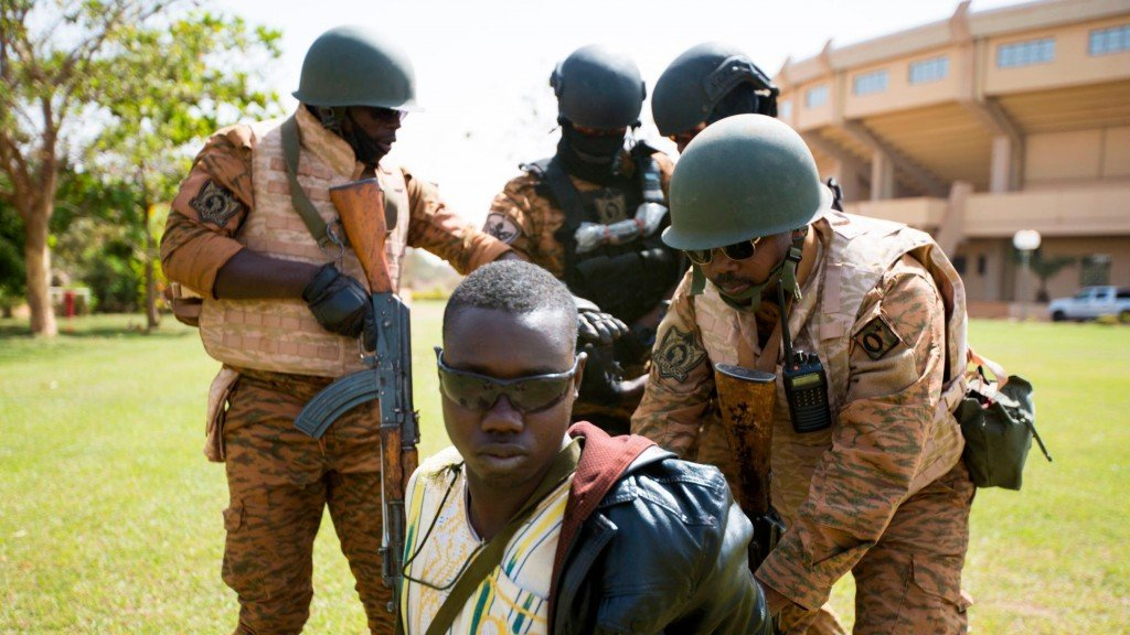US special forces train troops in Burkina Faso