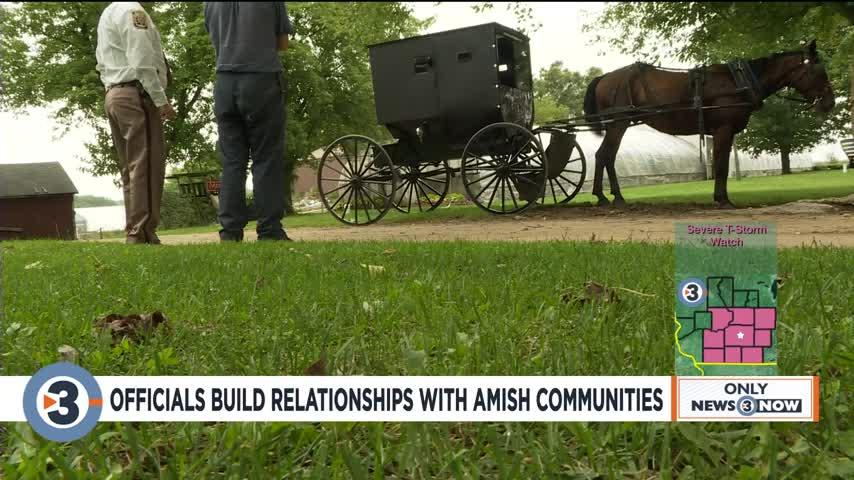 Officials build relationships with Amish Communitis