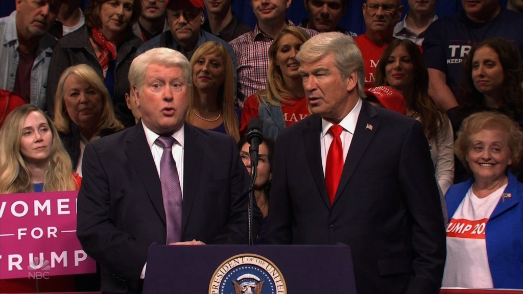 SNL has Alec Baldwin's Trump meeting his supporters