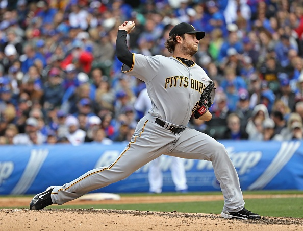 Cole keeps Cubs from sweeping Pirates