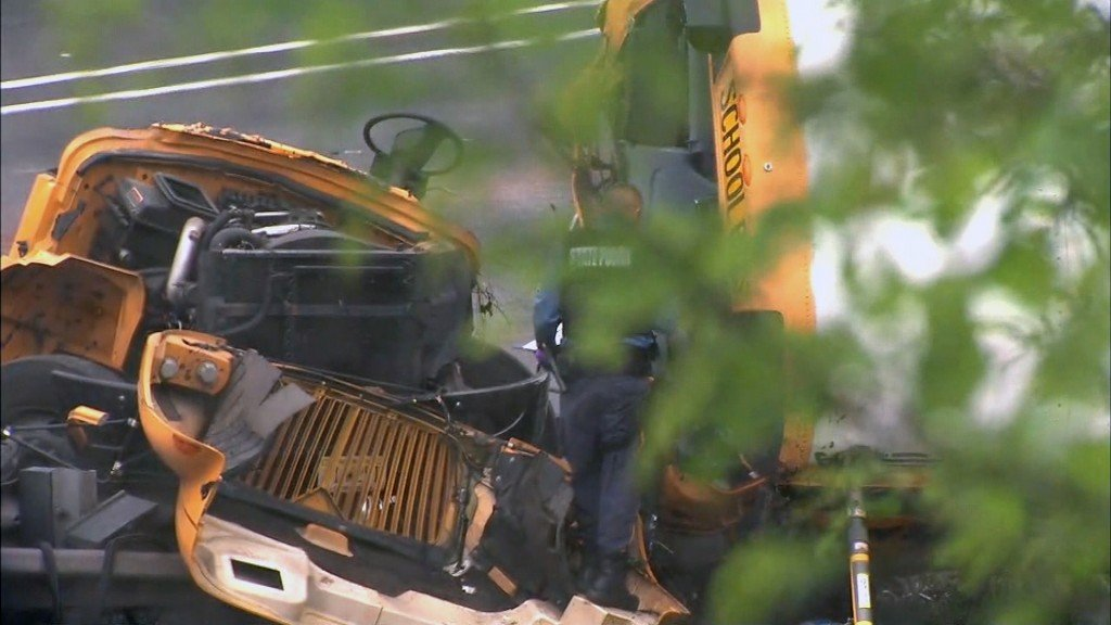 School bus driver charged in fatal crash
