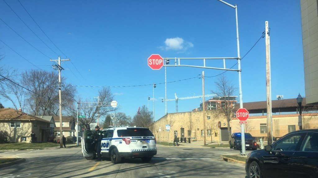 Police respond to shots fired in the 100 block of North Paterson St.