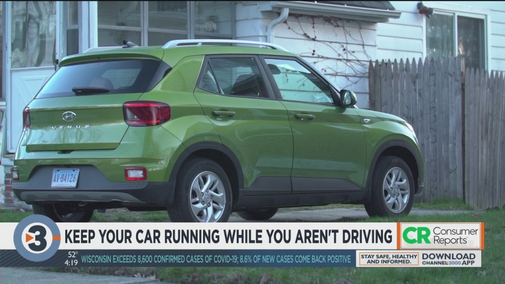 Consumer Reports: Keep Your Car Running While You Aren't Driving