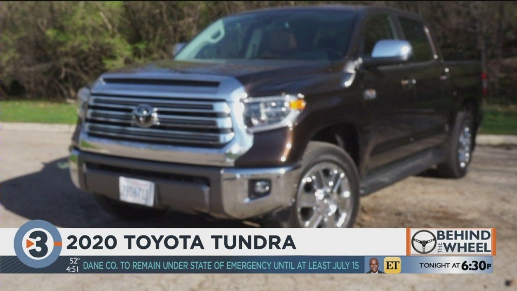 Behind The Wheel: 2020 Toyota Tundra