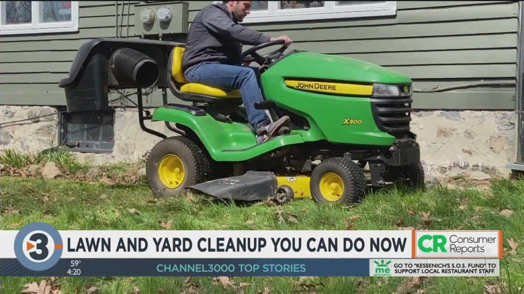 Consumer Reports: Lawn And Yard Clean Up You Can Do Now