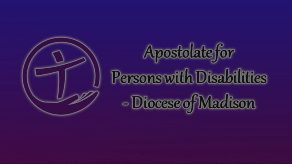 Apostolate To The Handicapped 4/17/2020