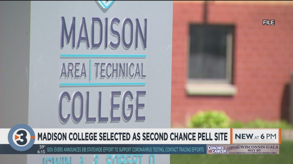 Madison College Selected As Second Chance Pell Site