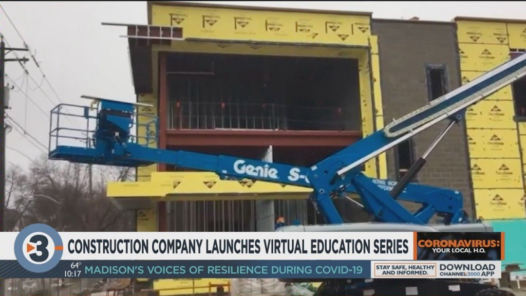 Local Construction Company Launches Virtual Education Series