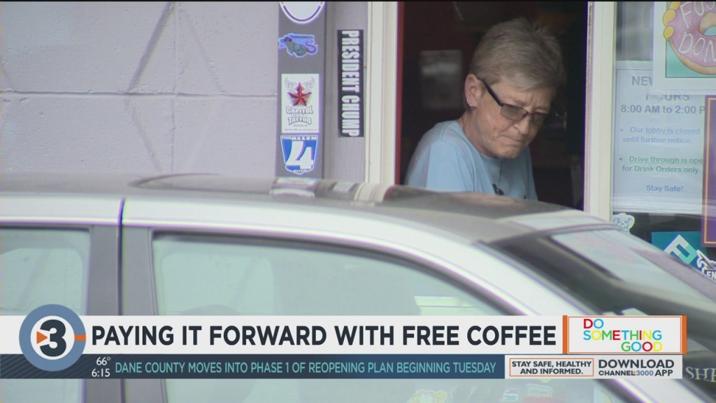 Paying It Forward With Free Coffee