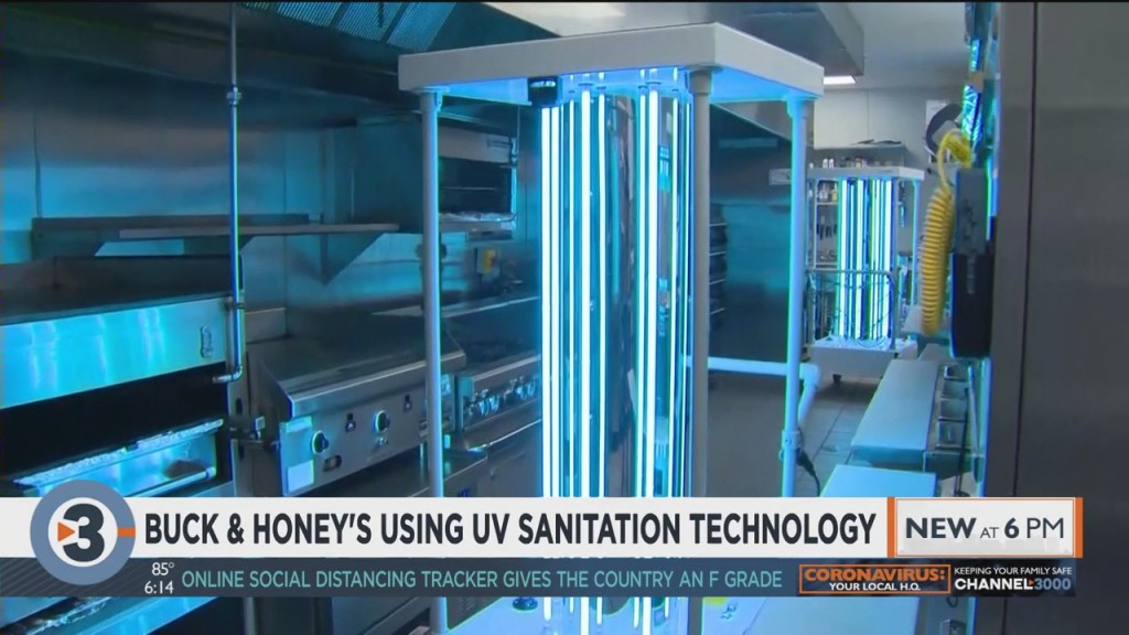 Buck And Honey's Using Uv Sanitation Technology