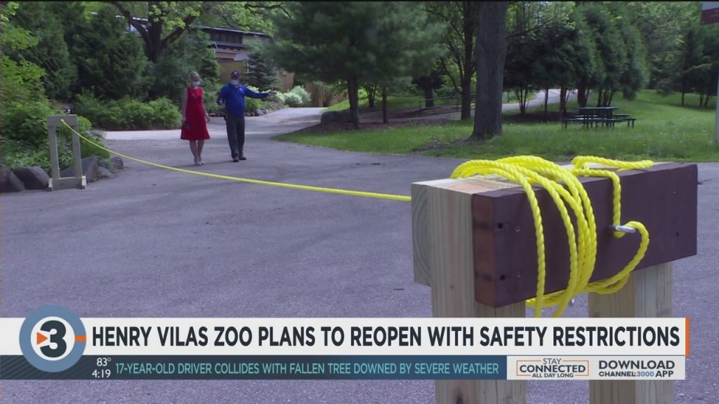 Henry Vilas Zoo Plans To Reopen With Safety Restrictions