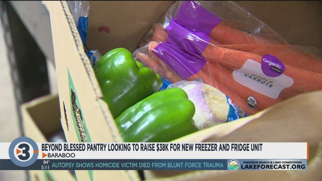 Beyond Blessed Pantry Looking To Raise $38k For New Freezer, Fridge Unit