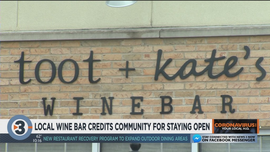 Verona Wine Bar Credits Community For Staying Open