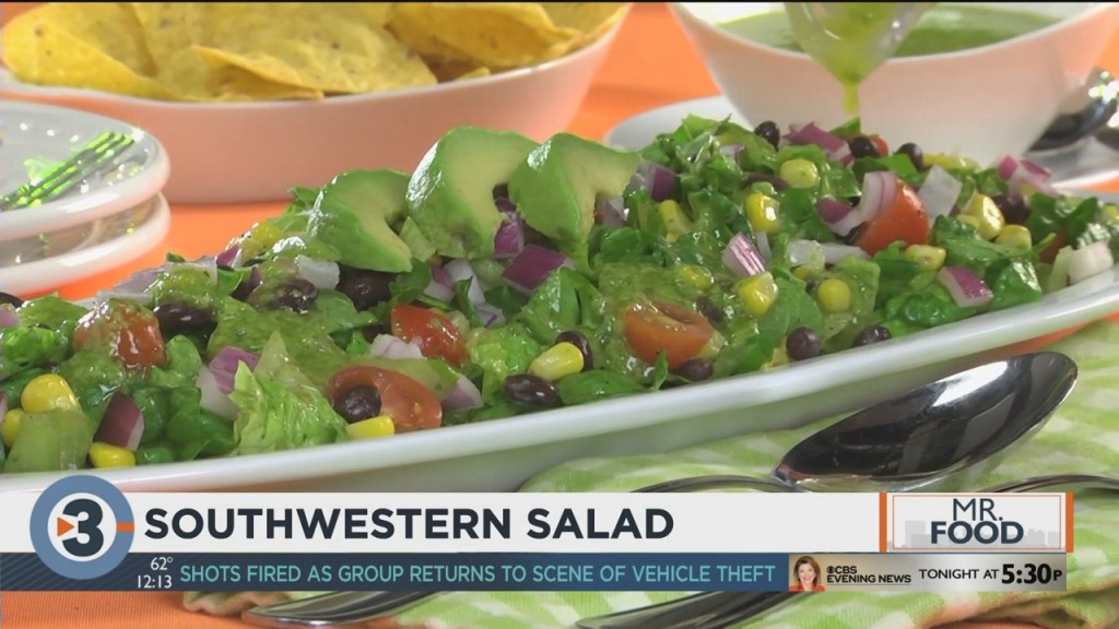 Mr. Food: Southwestern Salad Toss