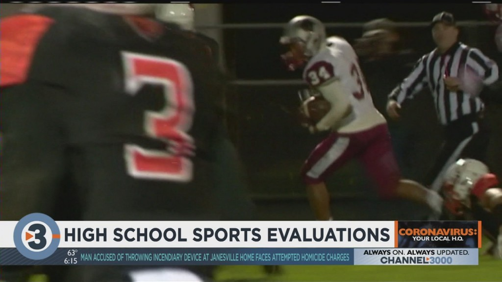 High School Athletes Prepare For Fall Sports Evaluations
