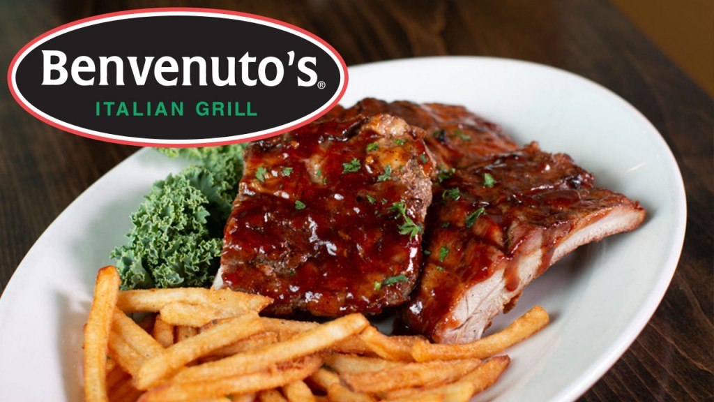Benvenutos Italian Grill ribs with fries