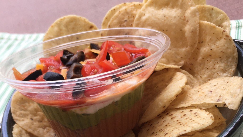 Mexican Seven Layer Dip Individual Final