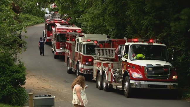 Wlos Apartments Catch On Fire